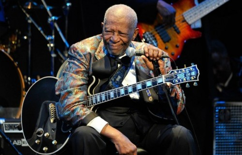 "Riley ""BB"" King, 89 anni."