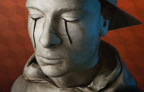 """Un dettaglio della copertina del nuovo album di Clementino, """"Miracolo!"""""""