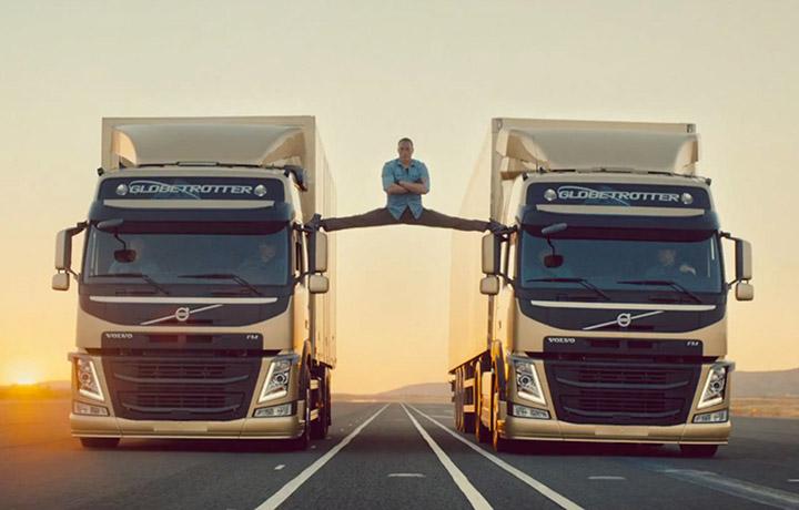 "Jean Claude Van Damme per Volvo Trucks - <a href=""https://www.youtube.com/watch?v=M7FIvfx5J10"" target=""_blank"">Guarda il video</a>"