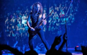 Kirk Hammett, 52 anni, è il chitarrista dei Metallica. Foto: Facebook