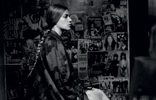 Tea Falco fotografata per Rolling Stone da Toni Thorimbert