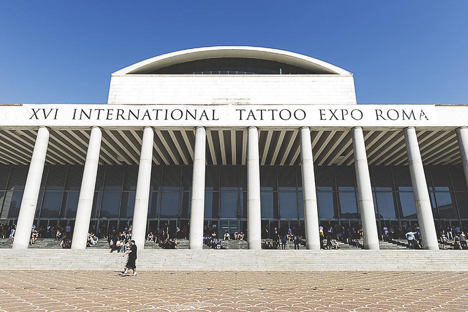 Le foto del xvi international tattoo expo a palazzo dei - Architetto palazzo congressi roma ...