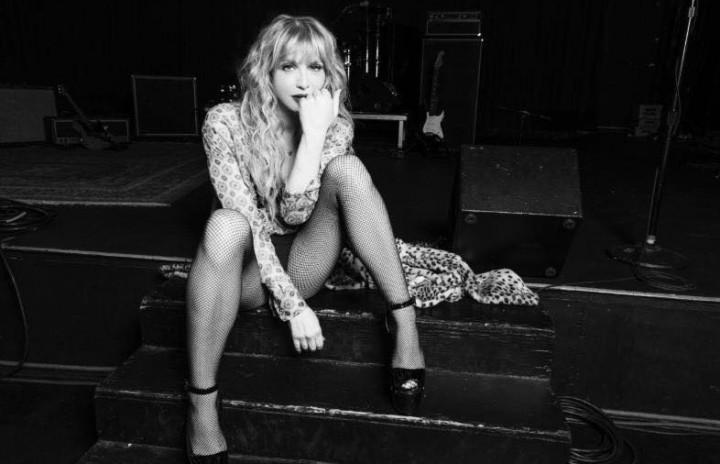 Courtney Love, foto via Facebook