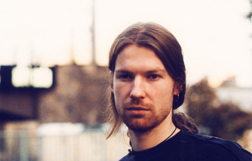 Richard D. James in arte Aphex Twin. Foto: Facebook