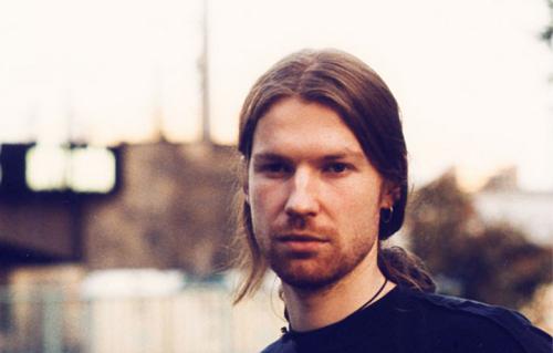 Richard D. James in arte Aphex Twin. Foto: Facebook
