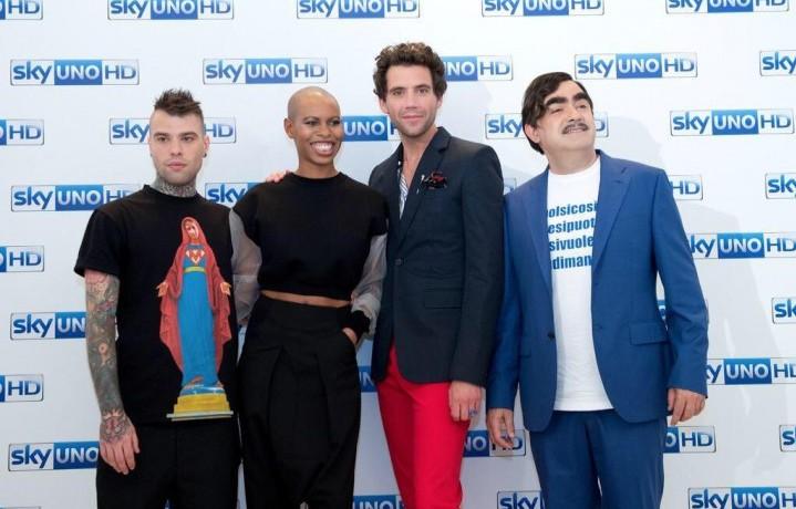 La nuova giuria di X Factor