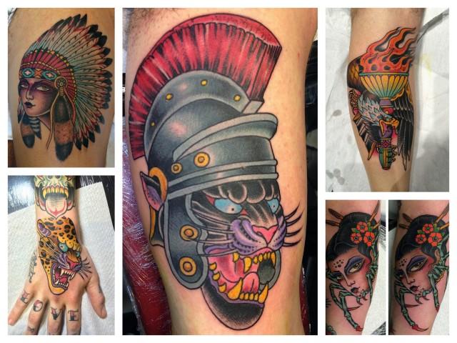 Heinz - Alcuni dei lavori più rappresentativi del Tattoo Artist