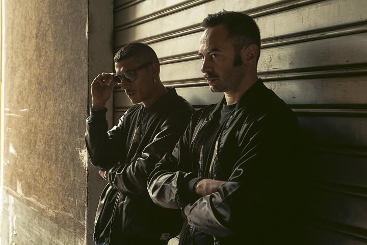 Noyz Narcos e Fritz da Cat, foto ufficio stampa