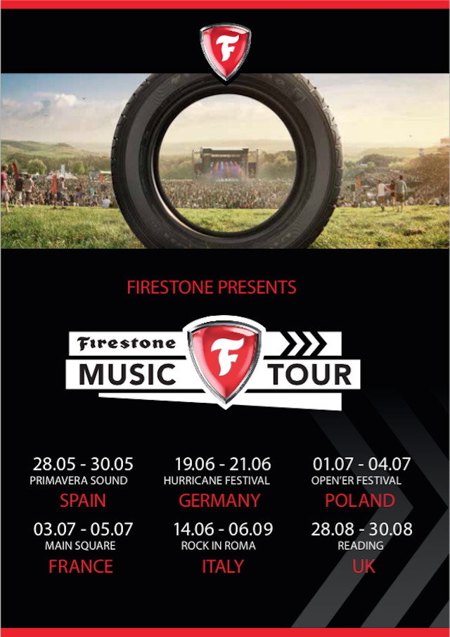 Firestone Music Tour 2015