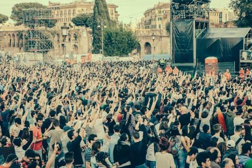 concertone primomaggio, roma, primo maggio, 2015, piazza san giovanni, kimberley ross, foto