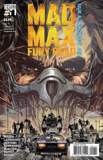 "La cover di ""Mad Max: Fury Road"" di Tommy Lee Edwards"