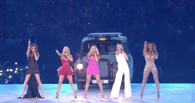 Spice Girls Live @ cerimonia di chiusura Olimpiadi 2012