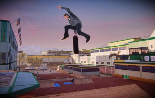 Una schermata di Tony Hawk Pro Skater 5, in uscita quest'anno