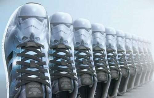 4 maggio 2015, adidas celebra a suo modo lo Star Wars Day