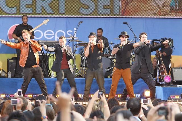 I Backstreet Boys in tour nel 2013 - Foto via Facebook