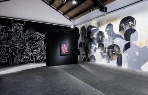 """Un dettaglio dell'esibizione """"The Bridges of Graffiti"""". Foto: Andrea Bastoni"""