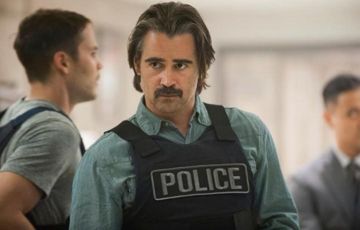Colin Farrell, nei panni del poliziotto Ray Velcoro. Fonte: Facebook