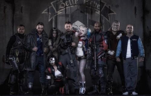 Lo scatto di gruppo della Suicide Squad