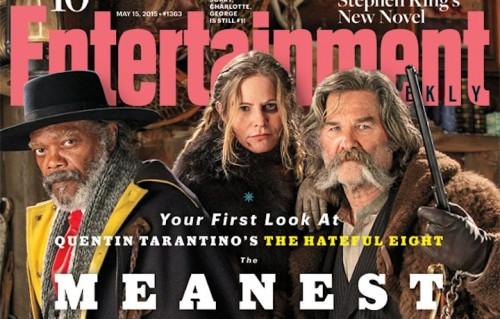 La cover di Entertainment Weekly con i protagonisti del film di Tarantino