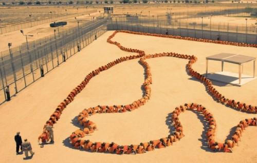 """Una scena del film """"Human centipede 3"""", in uscita a giugno"""
