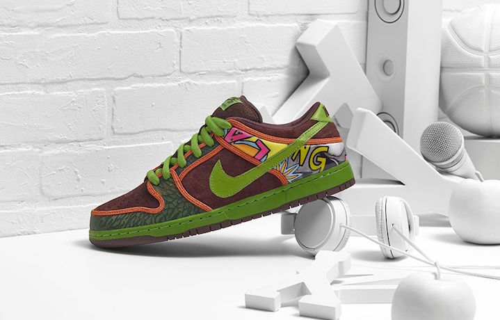 """Le Nike Dunk Low Premium Sb """"De La Soul"""". Foto: Nike.com"""