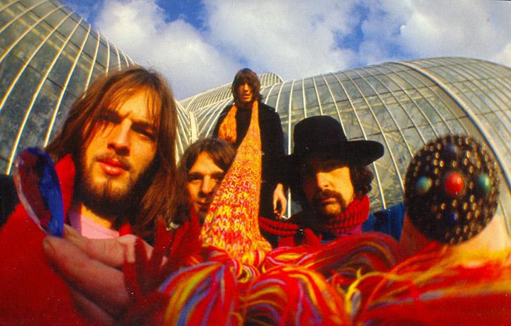 Pink Floyd al Kew Gardens di Londra nel 1968 | Foto via Facebook