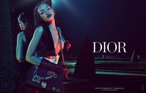Rihanna negli scatti di Steven Klein per la campagna di Dior. fonte: Instagram
