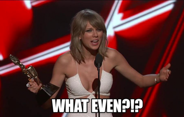 "O forse dovremmo chiamarli i ""Taylor Swift Awards"". Foto: Facebook"