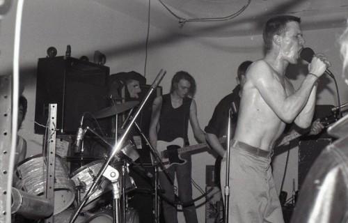 La formazione originale del 1983. Foto: Facebook
