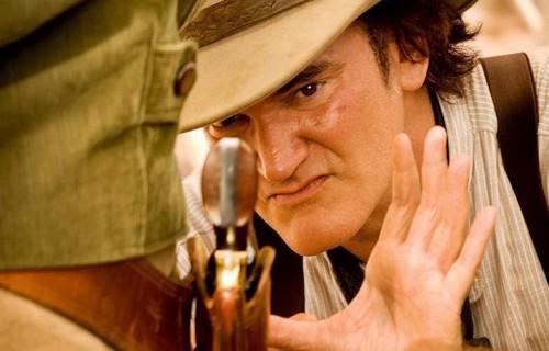 """Quentin Tarantino, sul set di """"Django Unchained"""""""