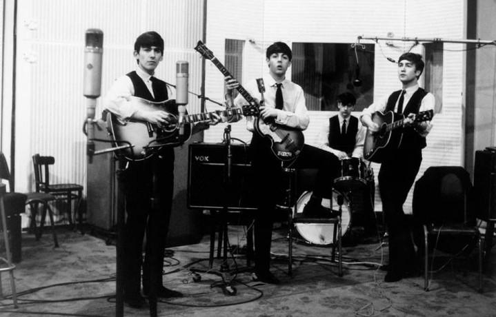 I Beatles ad Abbey Road. Foto: Facebook