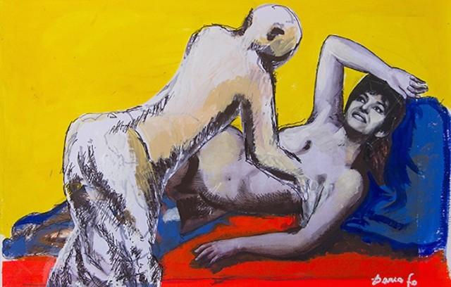 """""""Pronta per il massaggio"""" di Dario Fo"""