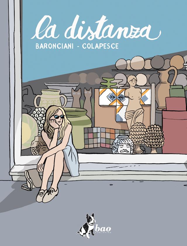 """""""La distanza"""", il libro di Baronciani e Colapesce edito da Bao publishing"""