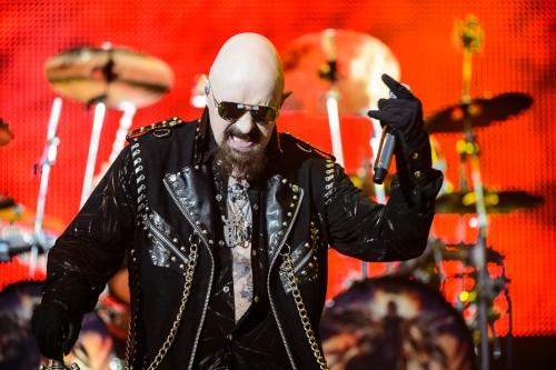 Rob Halford con i Judas Priest alla Summer Arena di Assago, Milano - Foto di Michele Aldeghi