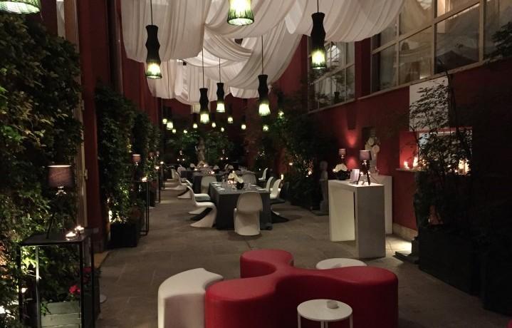 Una foto del Temporary Restaurant di Alessandro Borghese Il Lusso della Semplicità