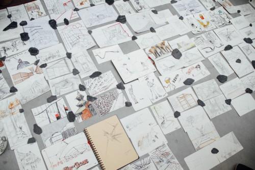 Moleskine, SketchMobItalia, Expo2015, Milano, disegni, Thomas Cian, Moleskine Stories, Alterstudio Partners, Arkipelag, Ivan Grianti