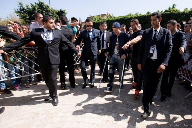 Avicii arriva a Rabat (Marocco). Foto © Sife El Amine
