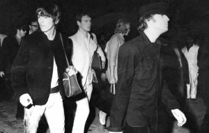 L'arrivo dei Beatles a Milano il 24 giugno 1965 - Foto stampa
