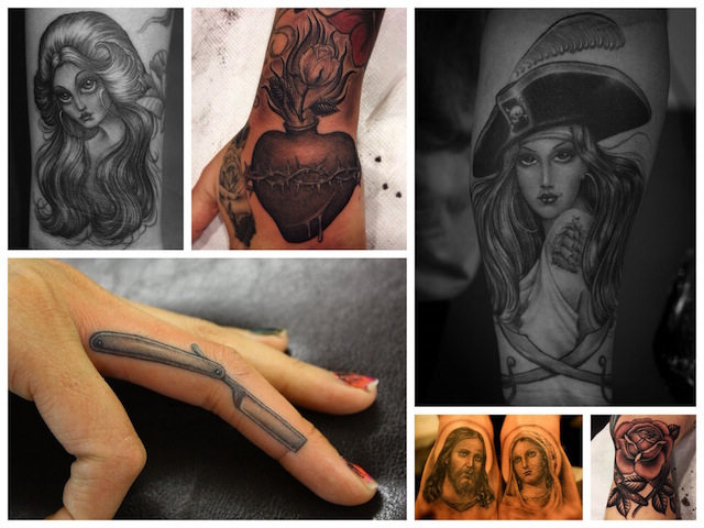 Ben Grillo - Alcuni dei lavori più rappresentativi del Tattoo Artist