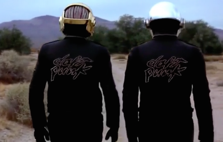"""Un frame dal documentario """"Daft Punk Unchained"""""""