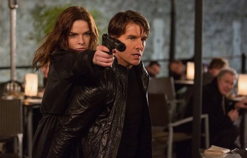 Tom Cruise è nel cast di Mission: Impossible - Rogue Nation. Fonte: Facebook