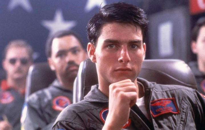 """Maverick nel primo """"Top Gun"""". Fonte: Facebook"""