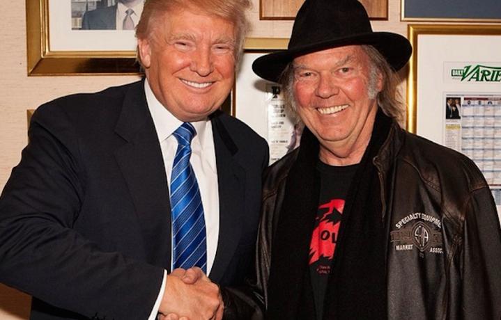 E allora questa foto da dove viene? Dall'Instagram di Trump