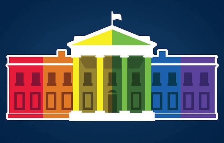 La Casa Bianca è diventata arcobaleno. Fonte: Facebook