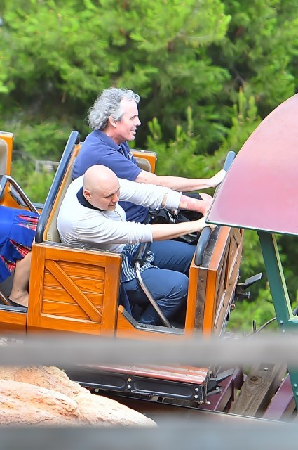 Billy Corgan sul Big Thunder Mountain Railroad