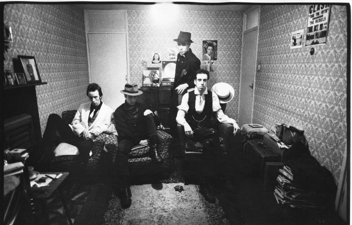 I Clash ai tempi d'oro. Foto: Facebook