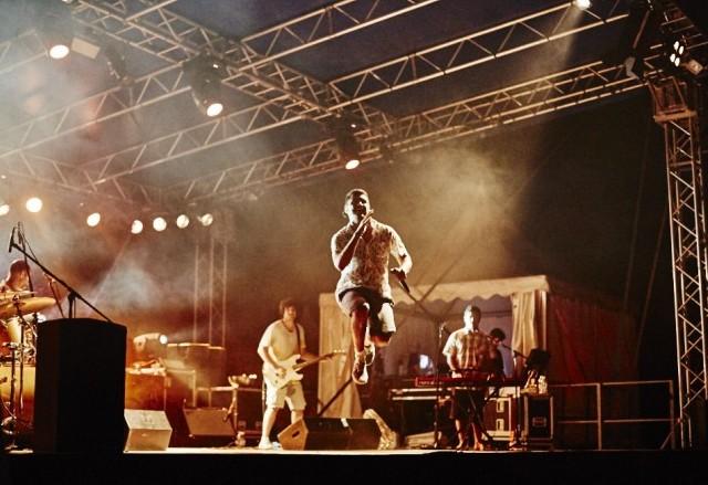 Durante il concerto di Criolo, lo scorso 21 luglio al Carroponte in provincia di Milano