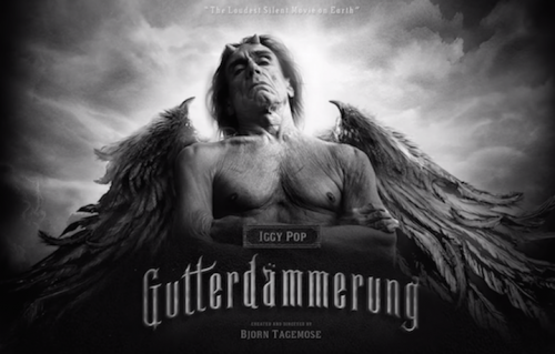 "Iggy Pop in ""Gutterdämmerung"""
