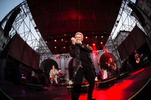 Billy Idol, Billy Idol World Tour, concerto, 11 luglio 2015, Brescia, Piazza della Loggia, live, foto, gallery, Michele Aldeghi