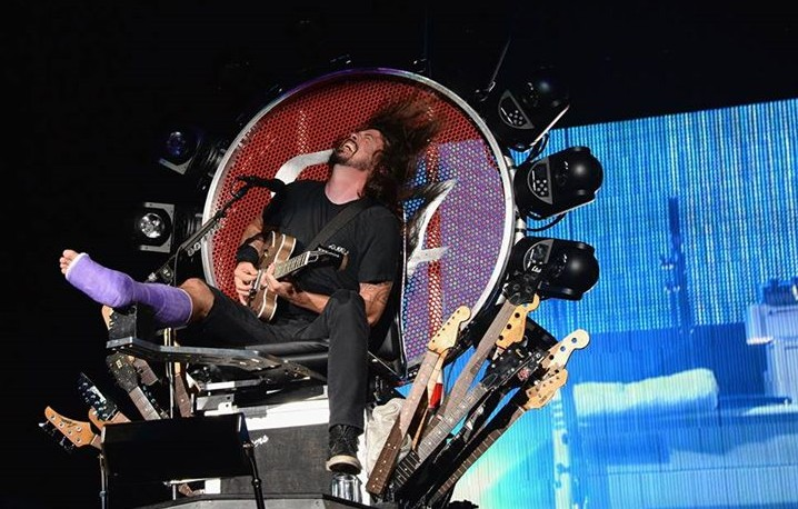 Dave Grohl, Foo Fighters - Foto di Kevin Mazur